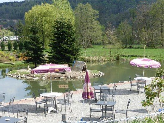 Hotel aux Deux Clefs : Autour de l'étang