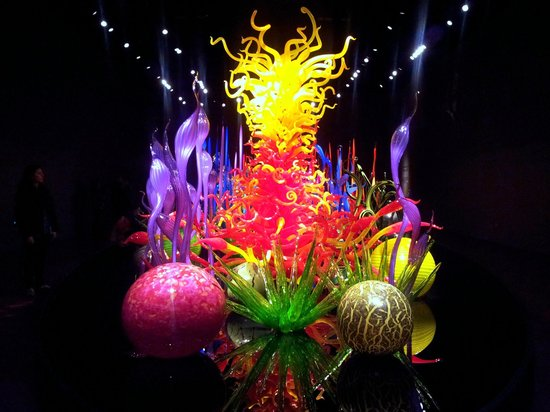 Glass Sculptures Picture Of Chihuly Garden And Glass Seattle Tripadvisor