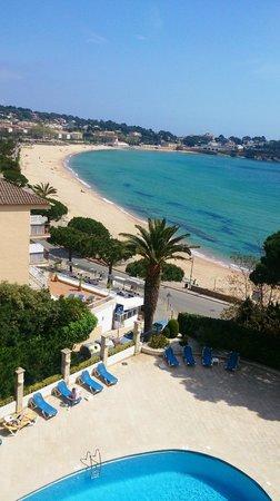 ILUNION Caleta Park : Desde la habitación con vistas al mar