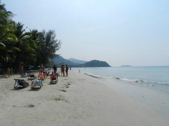 Khlong Prao Beach : Meer heb je niet nodig.........