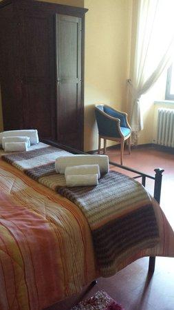Hotel La Rocca Dei Malatesta : La nostra stanza la numero.1