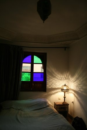 Riad Amssaffah : My beautiful room on the roof.