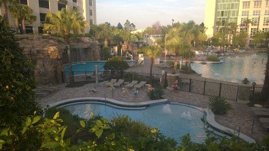 Hyatt Regency Orlando: pool area