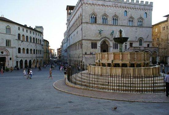 Hotel La Rosetta : Centro in Perugia, Italy.  Fontana Maggiore, Communale and Corso Vannucci