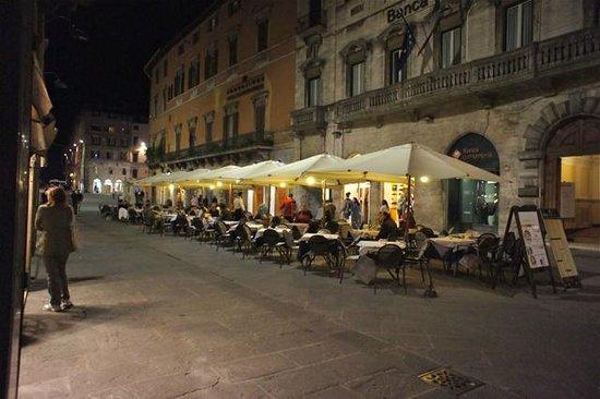Hotel La Rosetta : Corso Vannucci in Perugia, Italy