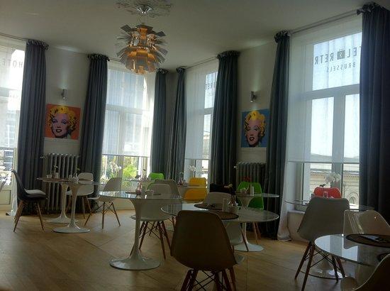 Hotel Retro: Dining area