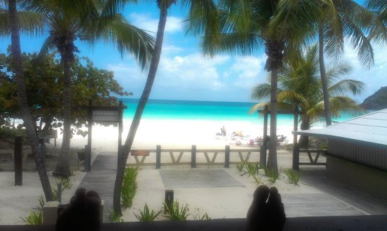 Culebra Beach Villas: View from the porch
