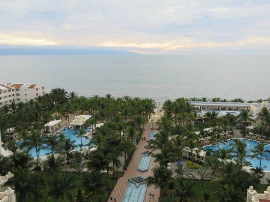 Hotel Riu Vallarta: View from top floor