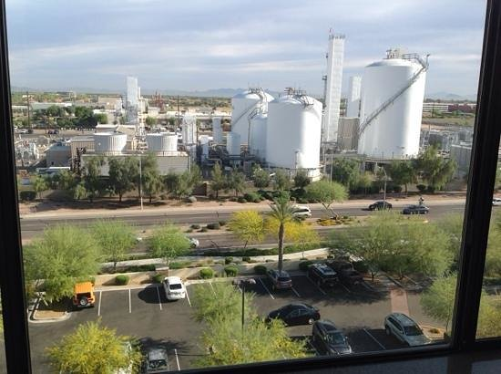 Hilton Phoenix Chandler: my view from #631(excutive floor)