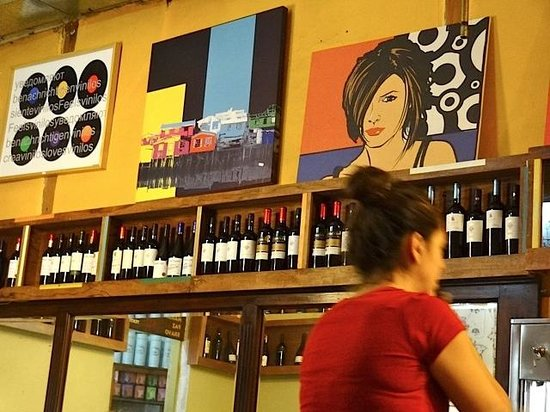 Cafe Vinilo: Lokal