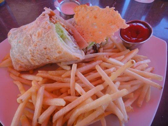 Senor Sweets : Chicken Caesar Wrap