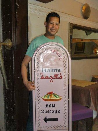 Restaurant Naima: Mustapha