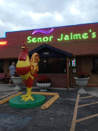 Senor Jaime's Mexican Restaurant & Cantina: Can't miss the cafe