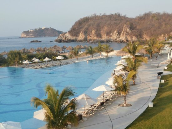 Secrets Huatulco Resort & Spa : View from Building 6, 3rd floor