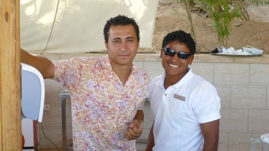 Hyatt Regency Sharm El Sheikh Resort : Club beach - Amad and Kadry
