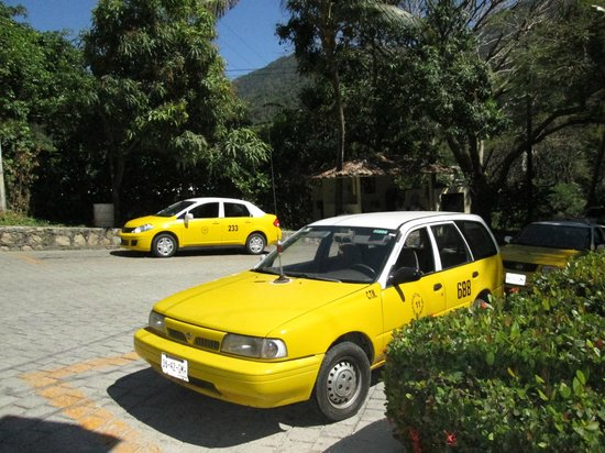 Barcelo Puerto Vallarta: These cabs are waitig just outside of security gates these are the ones to take