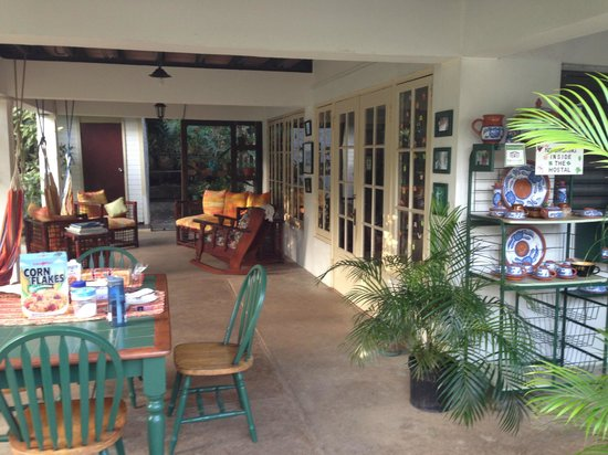 Mateo's B&B: Breakfast area