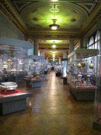 V&A  - Victoria and Albert Museum : Salas de objetos de plata y oro