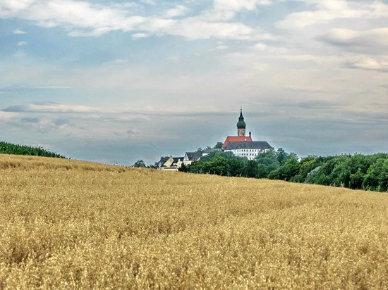 Andechs Monastery view