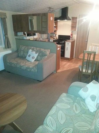Faskally Caravan Park: Our living area
