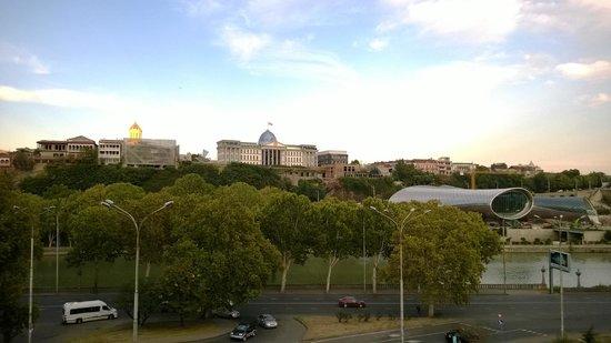 Hotel Ambassadori : Aussicht von der Terrasse