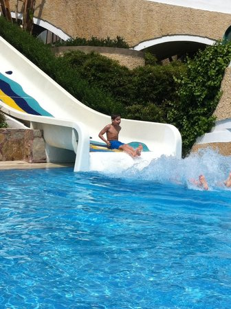 Limak Atlantis Deluxe Hotel & Resort: One of the water slides