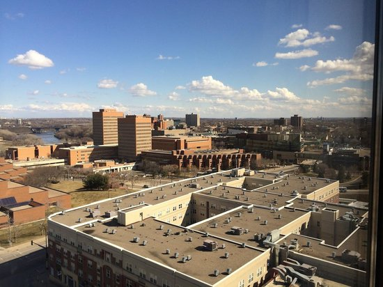 Courtyard by Marriott Minneapolis Downtown : View from the Room