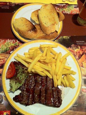 Maredo Steakhouse : Coscia di manzo da 180g nb: le patatine si pagano a parte 2,70€
