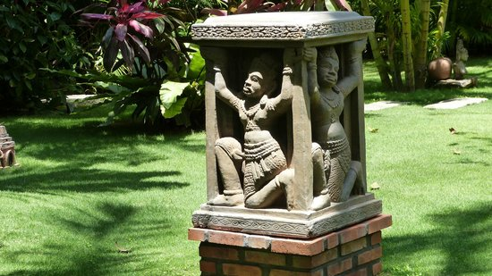 Cham Villas : Garten