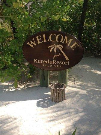 Kuredu Island Resort & Spa: Welcome