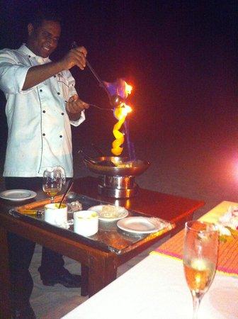 Kuredu Island Resort & Spa: Private chef