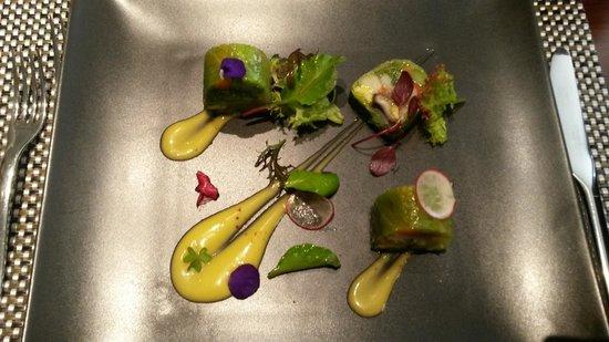 Chez Olivier: Salade aux légumes