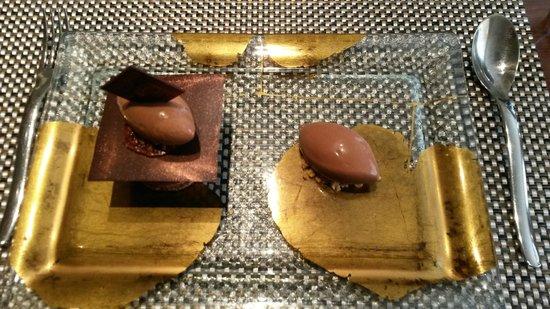 Chez Olivier: Dessert au chocolat