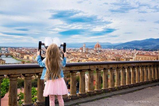 Piazzale Michelangelo: Флоренция прекрасна!