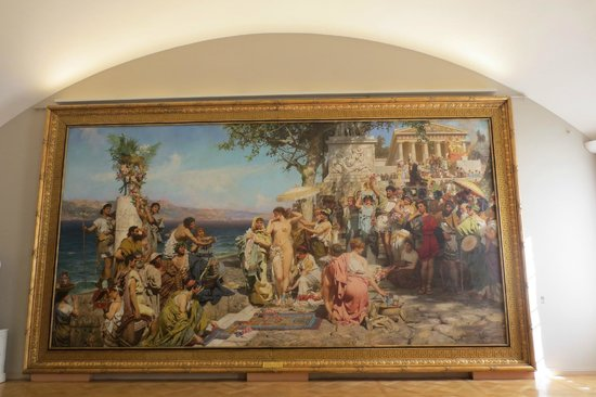 Russisches Museum: Probably the most enormous painting in the museum