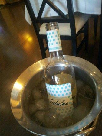 Posada el Camino: Me gustó mucho este vino. FIDELES D.O. Rueda