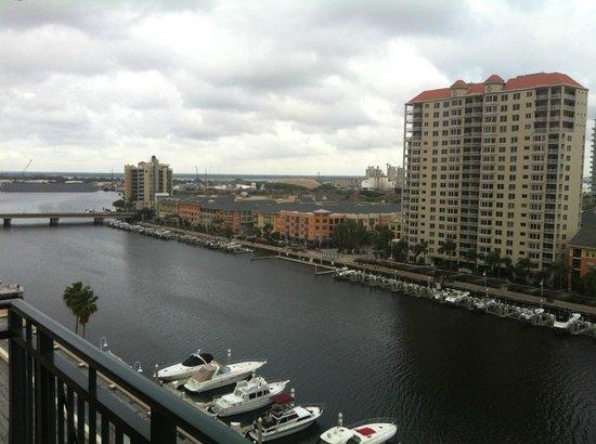 Tampa Marriott Waterside Hotel & Marina: Daytime view