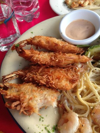 Casa Adela: Coconut shrimp!