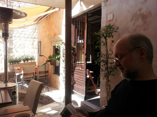 Ingolf visiting Rozario, Dubrovnik