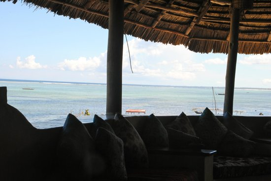 Matemwe Lodge, Asilia Africa: view from open air dining area