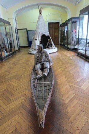 Russian Museum of Ethnography: Kayak