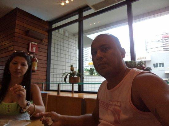 Hotel Diogo Fortaleza : Excelente. Voltaremos com certeza. VAILSON & ROSIANE Santarém-Pa