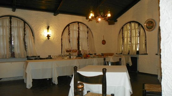 Albergo Tre Pozzi : Ресторан
