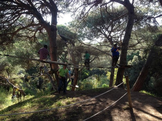 """Luso Aventura Albufeira: This was the """"yellow"""" course"""