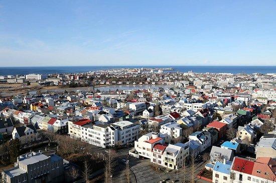 Black Pearl - Reykjavik Finest Apartments : Reykjavik - View from Hallgrimskirkja