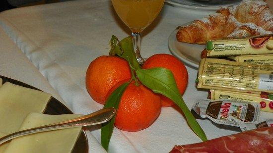 Albergo Tre Pozzi: Завтрак
