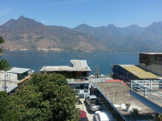 Hotel Mansion del Lago: View from the third floor