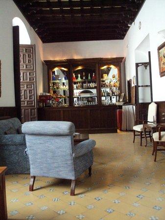 Hotel Palacio Marques de la Gomera: Bar-cafetería.