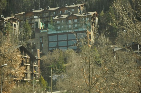 Hotel Anyos Park: Hotel Facade