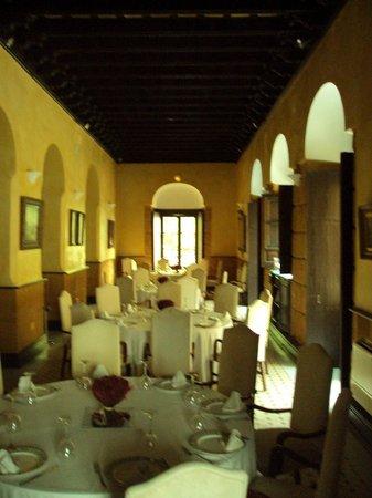 Hotel Palacio Marques de la Gomera: Coemdor del restaurante del hotel.